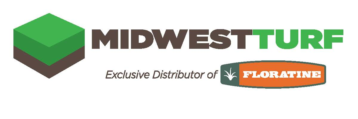 Midwest Turf logo with Floratine logo